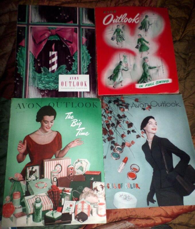 Avon Outlook Magazines in the Year 1952 15 Magazines Ephemera Scrapbooking