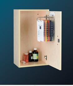 NEW BOXED LARGE MEDICINE / STORAGE CABINETS