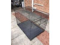 XL Dog Cage & Accessories
