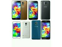 Brand New Orignal Samsung Galaxy S5 Uk Stock SM-G900F-16GB-Black,White(Unlocked)With Warranty