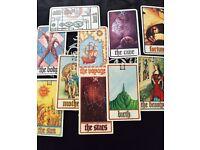 Spiritual medium tarot card reader