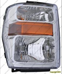 Head Lamp Driver Side Except Harley Davidson High Quality Ford F250 F350 F450 F550 2008-2010
