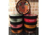 The Body Shop body butter and shower gel