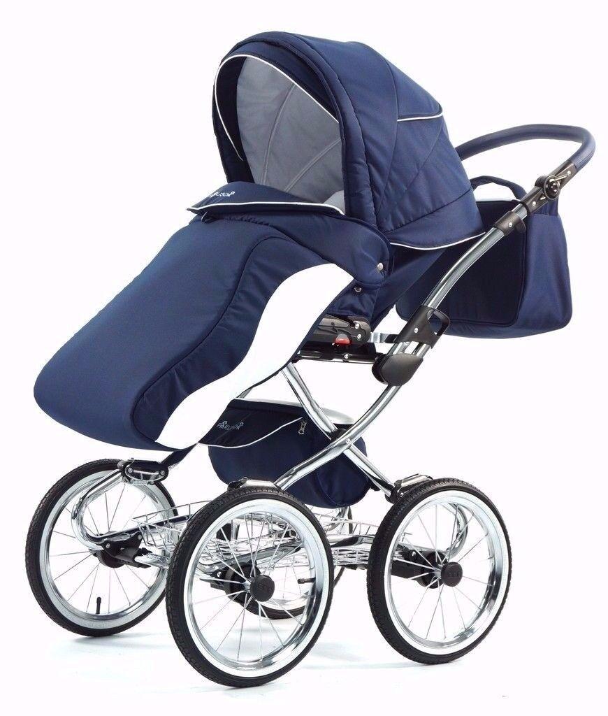 Stroller - Knorr baby - Kombikinderwagen Solia, blue-beige