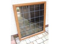 Second Hand Oak PVC Window