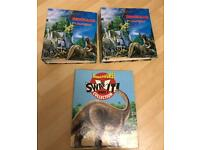 2 Dinosaur Fact Files & 1 Binder with Information Cards Inside