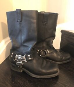 Harley Davidson Eagle Harness Men's Riding Boot.  Size 9