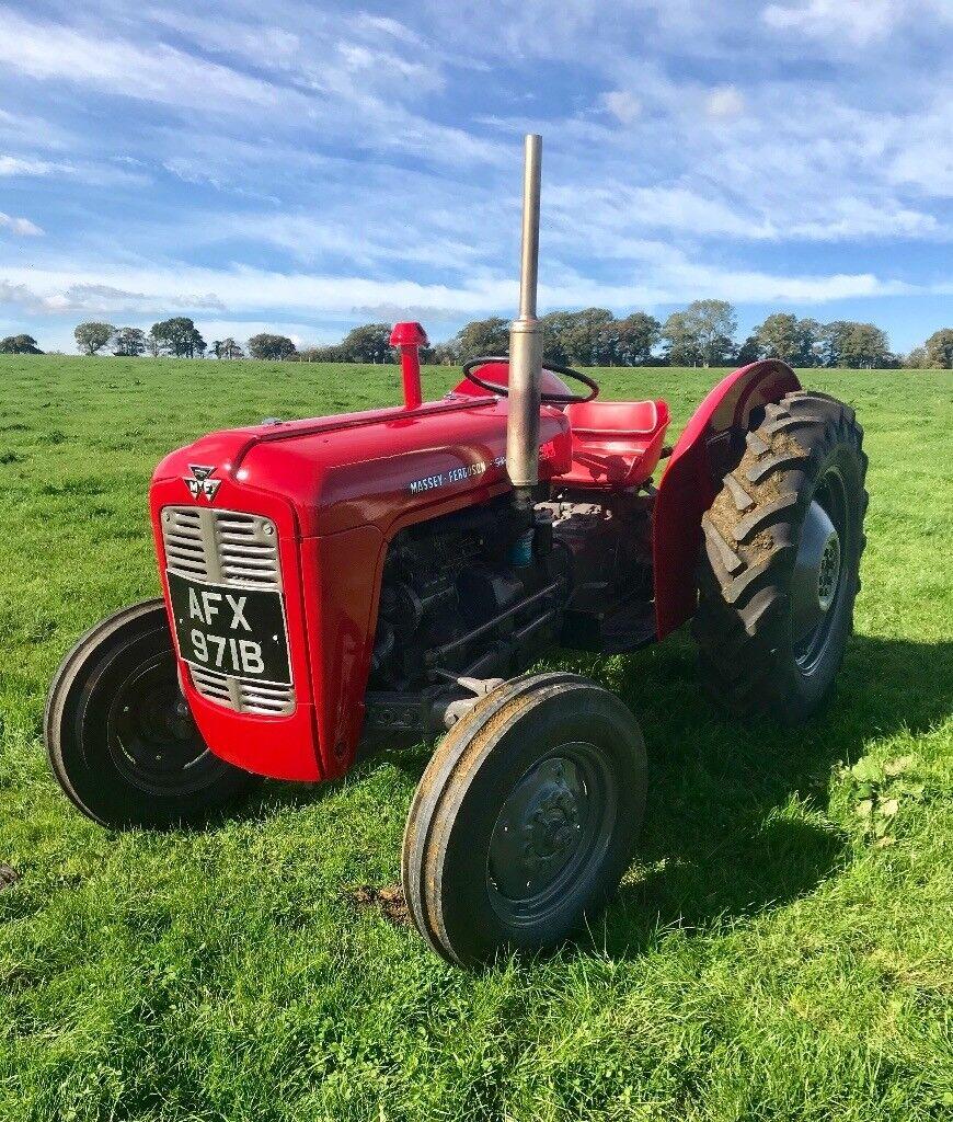 massey ferguson 35 x tractor vintage sold in sherborne. Black Bedroom Furniture Sets. Home Design Ideas