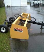 Land leveler grader 7 pied pour tracteur / tractor new/neuf