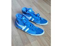 Vintage Italian Gola sneakers - size UK 11, EUR 45, US 12