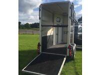 Ifor Williams HB403 single trailer