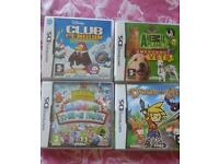 Nintendo ds games for sale all for £10