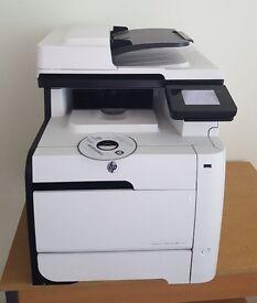 HP Laserjet Printer (HP Laserjet Pro M475dn) with printer, copier, fax and scanner functions