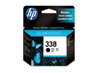 2 x HP 338 New black ink cartridges (Bath)