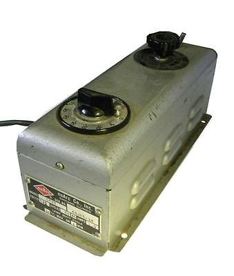 Nuarc Cp25 Lamp Power Supply 120 Vac 1a 8.5-20 Vac - Sold As Is