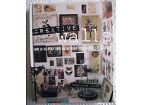 Creative Walls. Hardback. 224 pages. ISBN 978 1 907563 15 7. Geraldine James.
