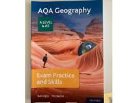 AQA A Level Geography Exam practise and skills book