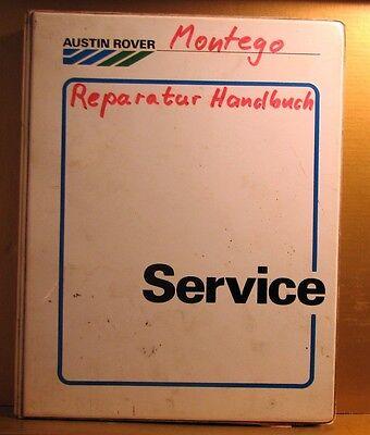 Austin Rover * Montego * MG Turbo * Reparaturhandbuch + Verdrahtung + Nachtrag