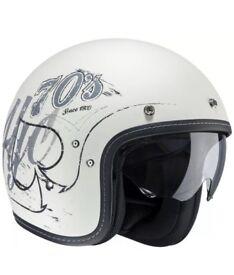 Hjc 70s kevlar motorbike helmet XL RRP £139 super comfy