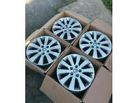 vauxhall astra j 2015 2.0 cdti original alloy wheels.