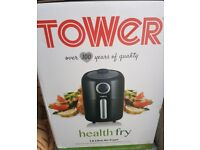 Tower air fryer black 1.6l