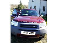 REDUCED: Freelander TD4 2ltr 2001 124,458k MOT 8/12/16 spares or repair. £550 ono. May Swap!