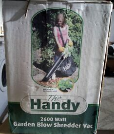 Handy 2600 Watt Garden Blow Shredder Vac