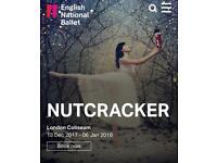 2 tickets to The Nutcracker London 1st of January Christmas gift present