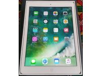 ipad Air, 16GB, Wifi and 4G Sim Unlocked, Boxed, Mint Condition