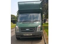 2007 Ford Luton Van with Tail Lift FOR SALE. 1 year MOT, full service history. £4,000