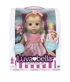 Luvabella blonde interactive doll toy. Sold out in shops
