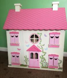 Big Wooden dolls house