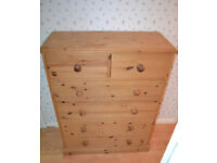 Solid Pine 2 Over 4 Chest Of Draws