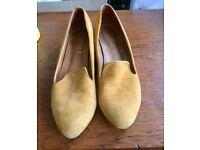 Vintage shoe low heel 8