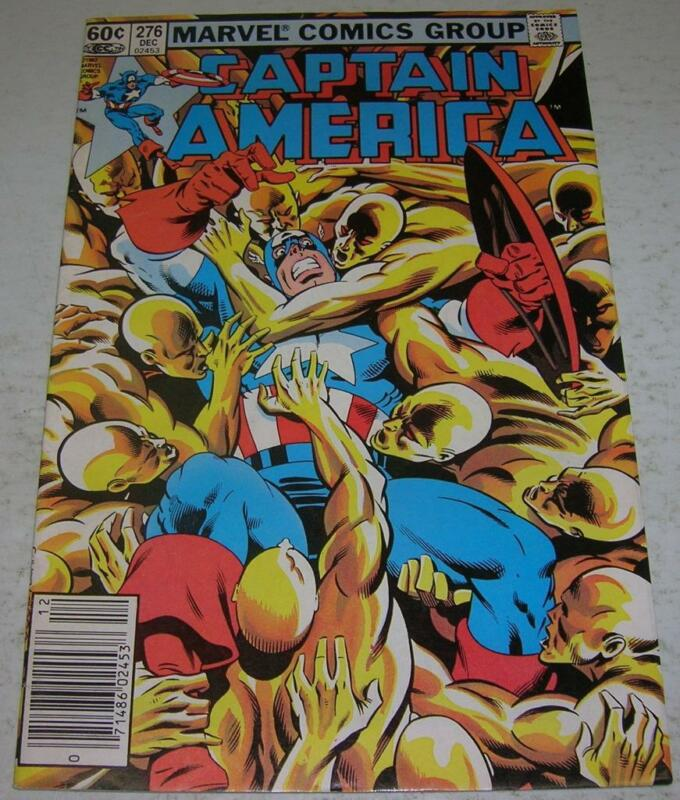 CAPTAIN AMERICA #276 (Marvel Comics 1982) 2nd appearance of BARON ZEMO II (FN+)
