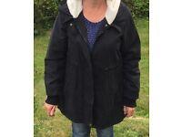 Black Parker coat