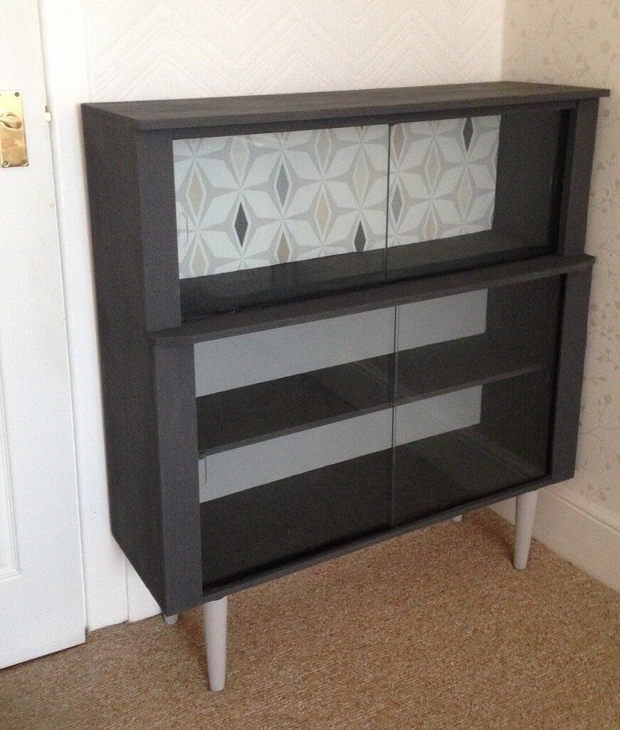 Retro Display Cabinet Upcycled
