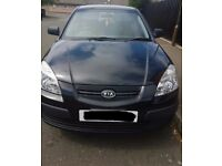 LOW MILEAGE!!!! KIA RIO, 2008, BLACK, 1.4