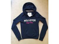 Hollister Navy Blue Hoodie, Size XS, New (without tags)