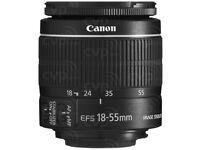EFS 18-55 new lens