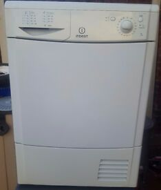 Indesit 7kg Condenser Dryer
