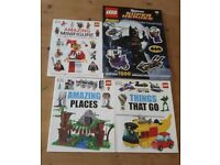Lego sticker/activity books.