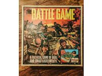 THE BATTLE GAME board game from Triang Game
