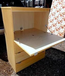 Oakville IKEA Student Desk and 3 Drawer Dresser Chest of draws Compact good for college dorm