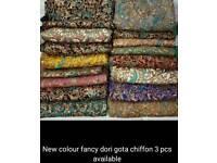 Chiffon 3 pcs suits