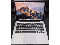 "Apple Macbook Pro Retina 13.3"" 2.6 intel Core i5 8gb 256gb Ssd mid 2014 MINT = WITH CHARGER no box"