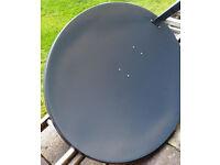 1.1M TRIAX DISH AND TWIN BLACK ULTRA LNB