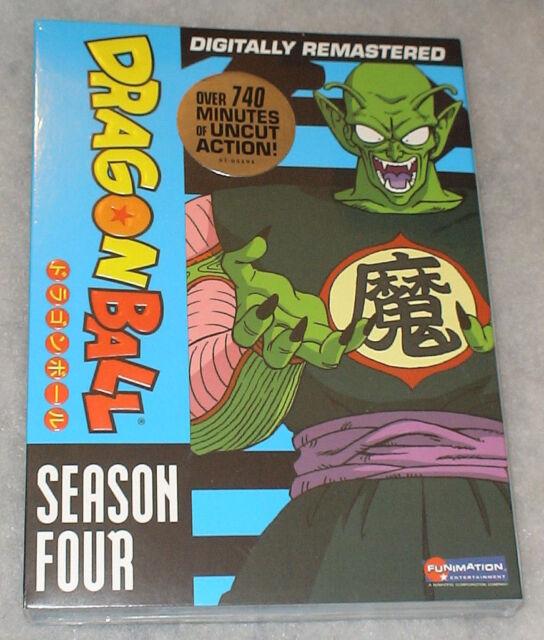 Dragon Ball Season 4 Four Dragonball DVD Box Set - NEW & SEALED