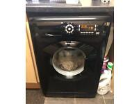 Hotpoint Black washing machine 8kg