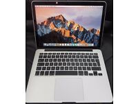 Apple Macbook Pro Retina 13.3 2.6 intel Core i5 8gb 128gb Ssd mid 2014 No swap, Scammers Or Paypal